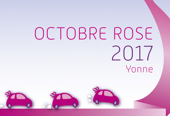 Octobre rose 2017 - Yonne